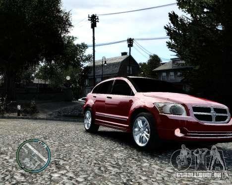 Dodge Caliber para GTA 4 vista lateral