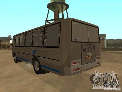Groove-4234 para GTA San Andreas vista traseira