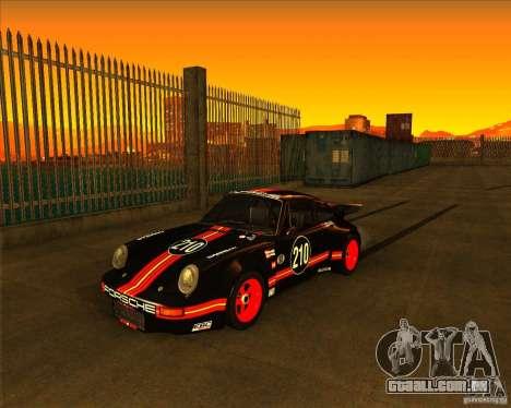 Porsche 911 Carrera RSR 3.0 1974 para GTA San Andreas