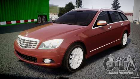 Mercedes-Benz C 280 T-Modell/Estate para GTA 4