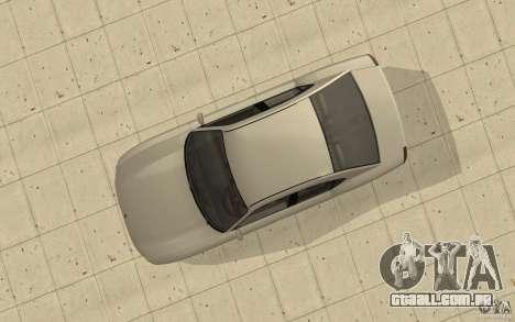 FIB Buffalo no GTA 4 para GTA San Andreas vista direita
