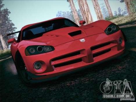 Dodge Viper SRT-10 ACR para o motor de GTA San Andreas