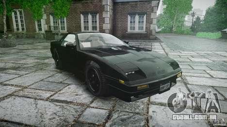 Ruiner KNIGHT RIDER Skin para GTA 4 vista de volta