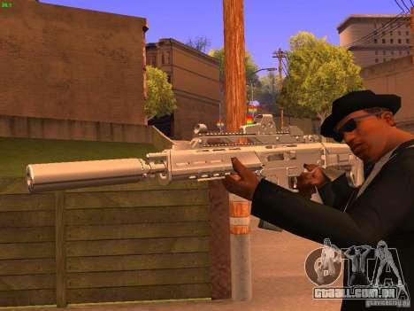 TeK Weapon Pack para GTA San Andreas sétima tela