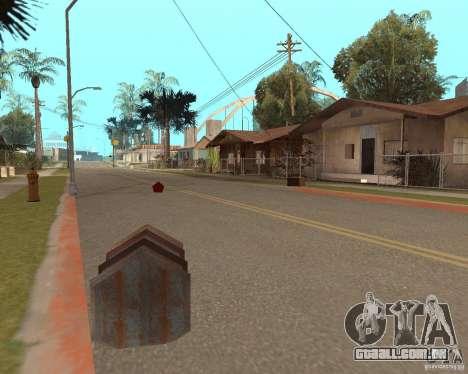 Remapping Ghetto v.1.0 para GTA San Andreas terceira tela