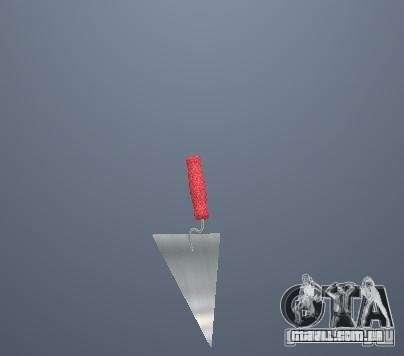 Armas de Pak poligonais altas para GTA San Andreas sétima tela