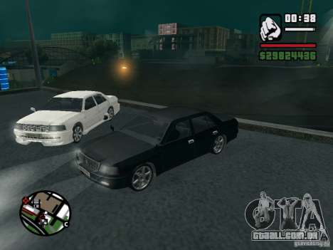 Toyota Crown Tunable para GTA San Andreas vista traseira