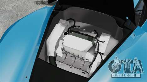 Marussia B2 para GTA 4 vista interior