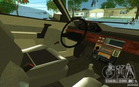 2141 AZLK v 2.0 para GTA San Andreas traseira esquerda vista