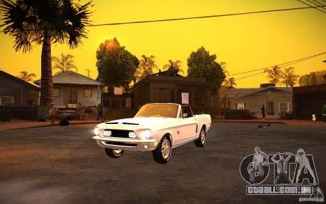 ENBSeries v. 1.0 por GAZelist para GTA San Andreas segunda tela