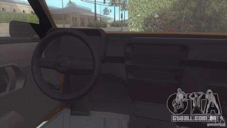 Fiat Cinquecento para GTA San Andreas vista direita