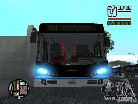 Design-X4-Dreamer para GTA San Andreas esquerda vista