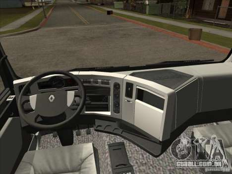 Renault Premium para GTA San Andreas vista direita