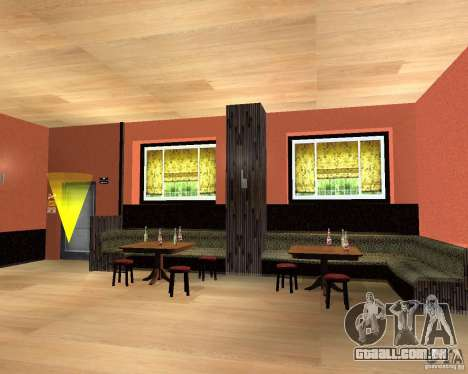 Um novo bar em Gantone para GTA San Andreas terceira tela