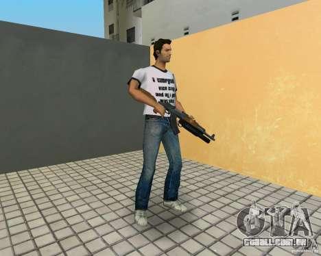 AK-47 com um М203 de lançador de Granada para GTA Vice City quinto tela