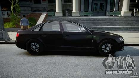 Audi S4 Unmarked [ELS] para GTA 4 vista interior