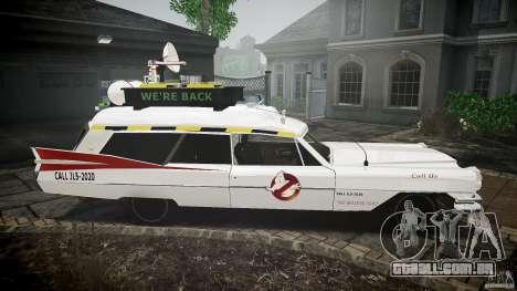 Cadillac Ghostbusters para GTA 4 vista de volta