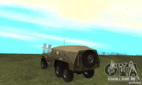 BTR-152 para GTA San Andreas vista direita
