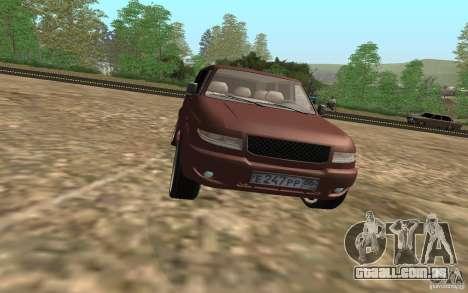 UAZ Patriot para vista lateral GTA San Andreas