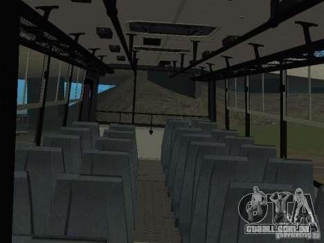 Ikarus C60 para GTA San Andreas vista traseira