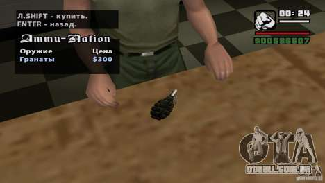 Montagem de HD para GTA San Andreas décimo tela