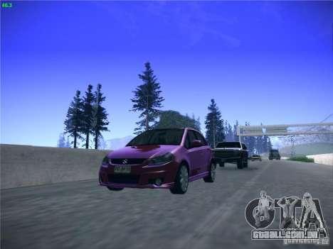 Suzuki SX4 2012 para GTA San Andreas vista traseira