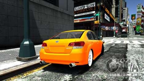 Subaru Legacy B4 para GTA 4 esquerda vista