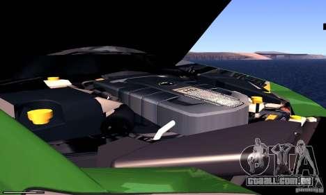 Subaru Legacy 2004 v1.0 para GTA San Andreas vista interior