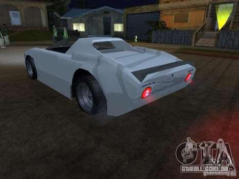 Cup Car para GTA San Andreas esquerda vista