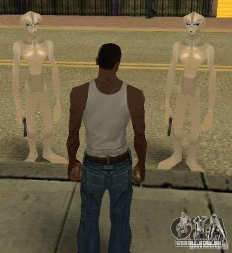 Recém-chegados de GROVE para GTA San Andreas
