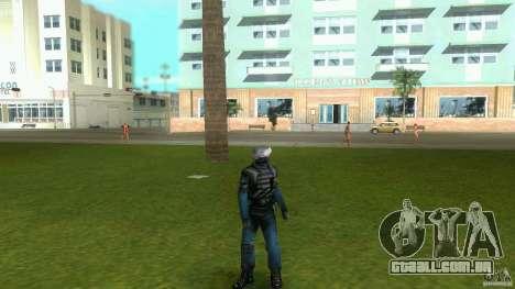 Alterar o Player pele para GTA Vice City quinto tela