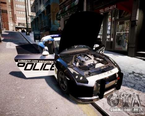 Nissan Spec GT-R Enforcer para GTA 4 vista direita