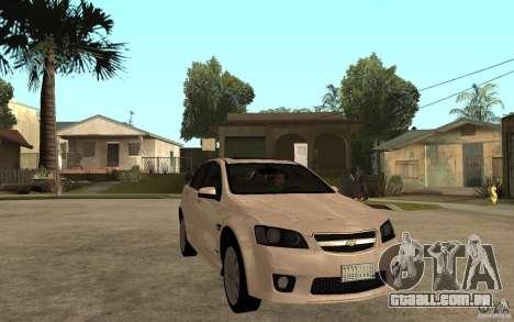 Chevrolet Lumina 2010 para GTA San Andreas vista traseira