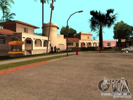 Grand Street para GTA San Andreas oitavo tela