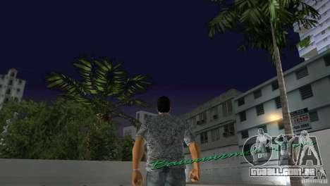 Caminhando para GTA Vice City por diante tela