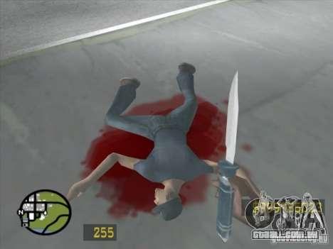 Parecido com o Counter-Strike para GTA San Andre para GTA San Andreas sexta tela
