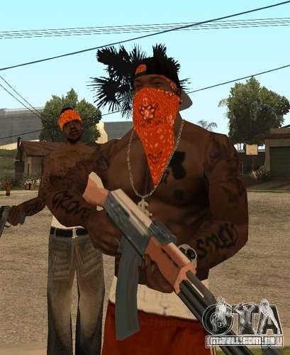 Bandas de substituição, tatuagens, roupas, etc. para GTA San Andreas