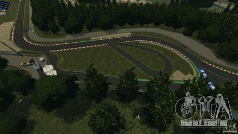 SPA Francorchamps [Beta] para GTA 4 sexto tela