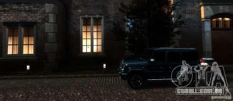 Mercedes-Benz G65 AMG [W463] 2012 para GTA 4 vista inferior
