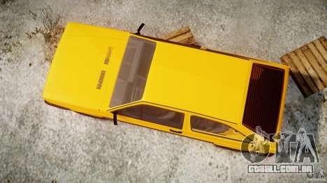 Volkswagen Gol GL para GTA 4 vista lateral