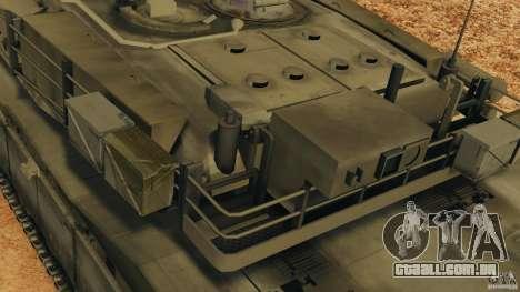 M1A2 Abrams para GTA 4 rodas