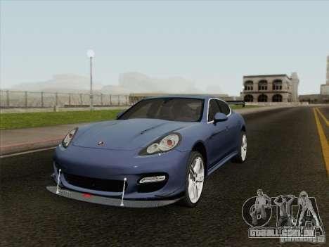 Porsche Panamera Turbo 2010 para GTA San Andreas vista interior