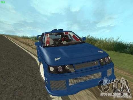 VAZ 2110 ADT Tuning para GTA San Andreas vista traseira
