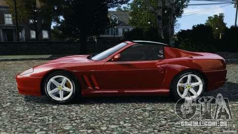 Ferrari 575M Superamerica [EPM] para GTA 4 esquerda vista