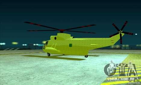 Leviatã avançado para GTA San Andreas vista traseira