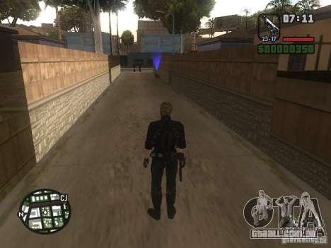 Wesker de RE5 para GTA San Andreas quinto tela