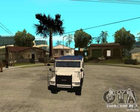 NSTOCKADE de GTA IV para GTA San Andreas vista traseira