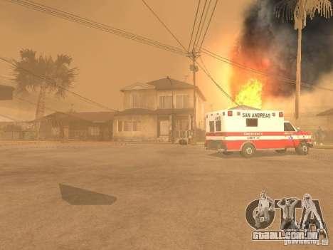 Terremoto para GTA San Andreas segunda tela