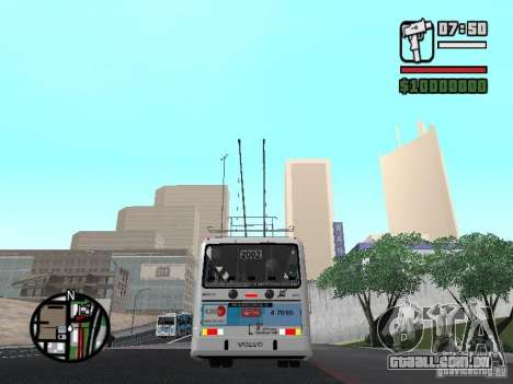 Marcopolo Torino GV Trolebus para GTA San Andreas vista direita