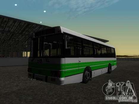 LAZ 42021 CWR para GTA San Andreas vista traseira